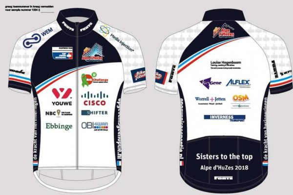 sponsoring Alpe d'HuZes 2018